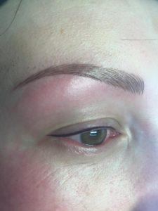 Alopecia universalis client correction by Maija Butkovic (Croatia)